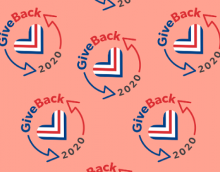 Give Back 2020 logo for Giving Tuesday 2020