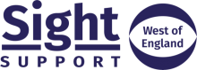 Sight Support West of england logo