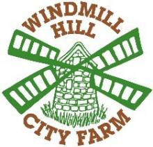 Logo with a Windmill