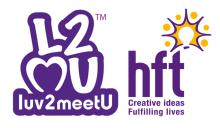 Luv2meetU logo