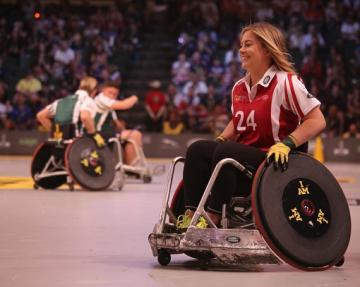 Wheelchair sports