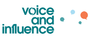 Voice and Influence logo