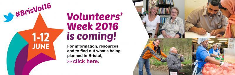 Volunteer Week 2016 banner ad