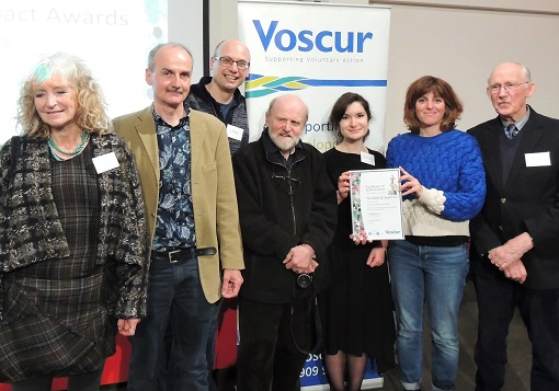The C.H.E.E.S.E. Project CIC with the Voscur Award for Environmental Impact at the Voscurs 2020