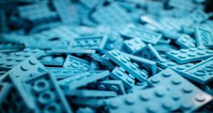 Lego bricks to demonstrate capacity building