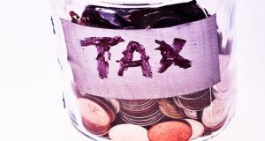 Tax coin jar