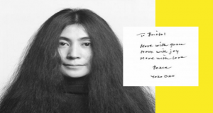 Interventions/2 exhibition by Yoko Ono and domestic abuse victims at Georgian House Bristol