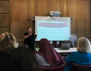 City Listening Project launch by Bristol Women's Voice