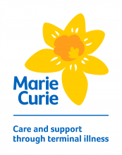 Marie Curie, care and support through terminal illness