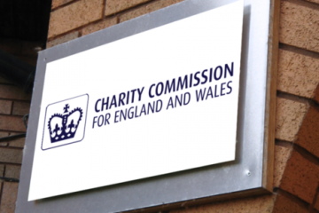 Charity Commission for England and Wales Sign