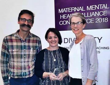 Mothers for Mothers Award Winners at Mental Health Alliance Awards Ceremony 2018